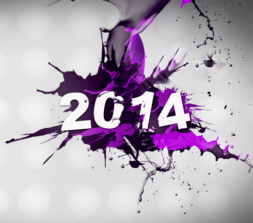 new-year-in-purple-color